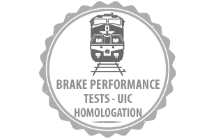 Brake Performance Tests UIC Homologation
