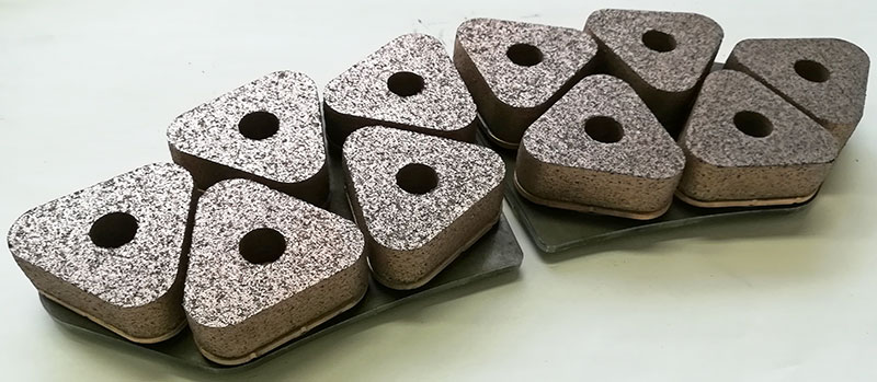Sintered Disc Brake Pad